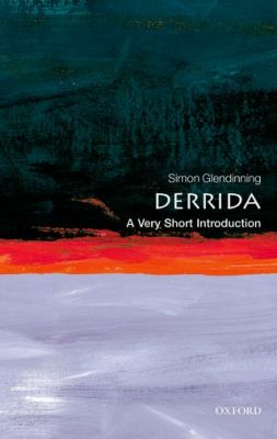 Derrida: A Very Short Introduction 9780192803450