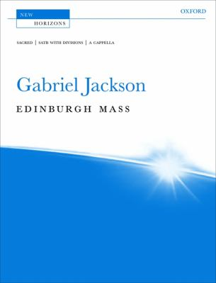 Edinburgh Mass: Vocal Score 9780193356191
