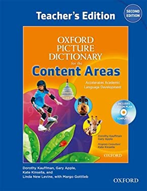 Oxford Picture Dictionary for the Content Areas: Language Development for Content Learning [With CDROM] 9780194525459