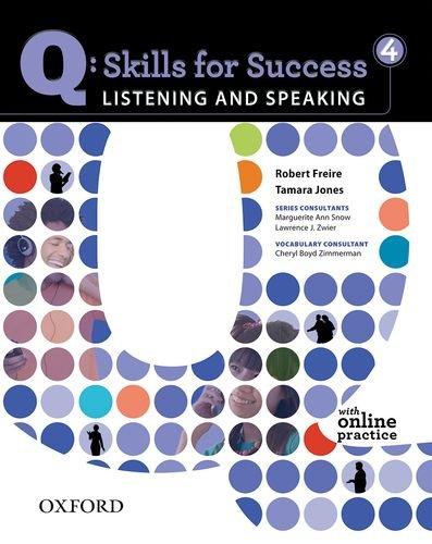 Q: Skills for Success - Listening & Speaking 4 9780194756136
