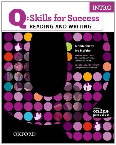 Q: Skills for Success Intro Reading & Writing Student Book with Student Access Code Card 9780194756501