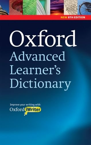 Oxford Advanced Learner's Dictionary of Current English [With CDROM] 9780194799027