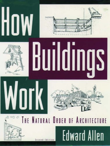 How Buildings Work: The Natural Order of Architecture 9780195091007