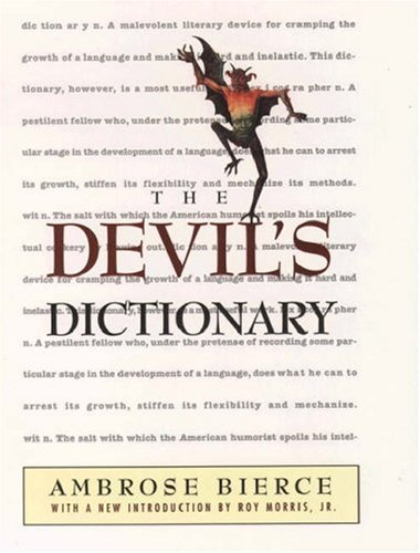 The Devil's Dictionary 9780195126273