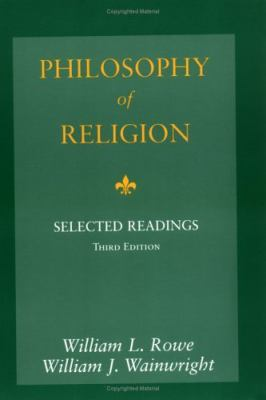Philosophy of Religion: Selected Readings 9780195155112