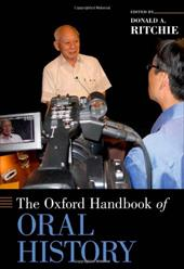 The Oxford Handbook of Oral History 12122583