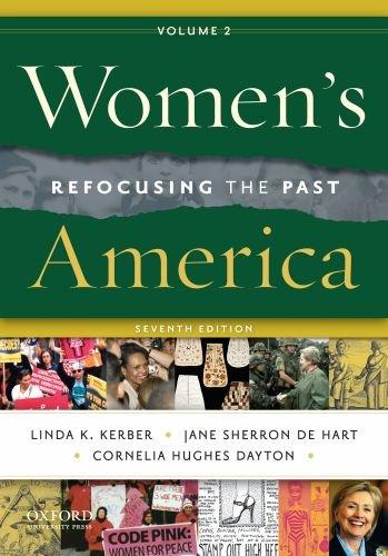 Women's America, Volume 2: Refocusing the Past 9780195388343