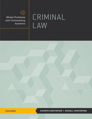 Criminal Law 9780195391770