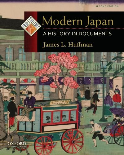 Modern Japan: A History in Documents 9780195392531