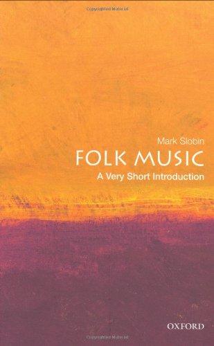 Folk Music: A Very Short Introduction 9780195395020