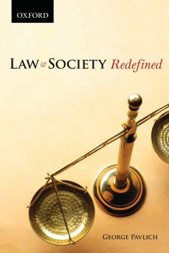 Law and Society Redefined 9780195429800
