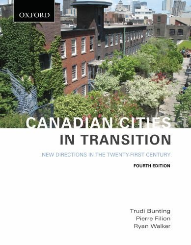 Canadian Cities in Transition: New Directions in the Twenty-First Century 9780195431254