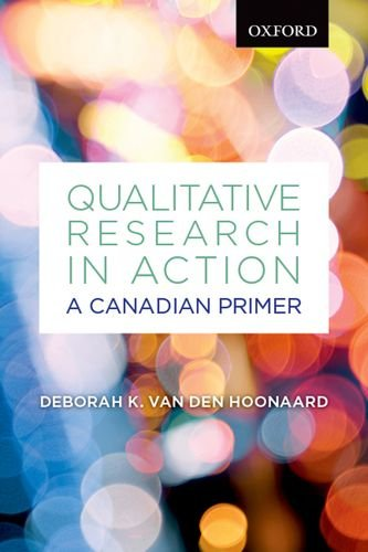 Qualitative Research in Action: A Canadian Primer 9780195439199
