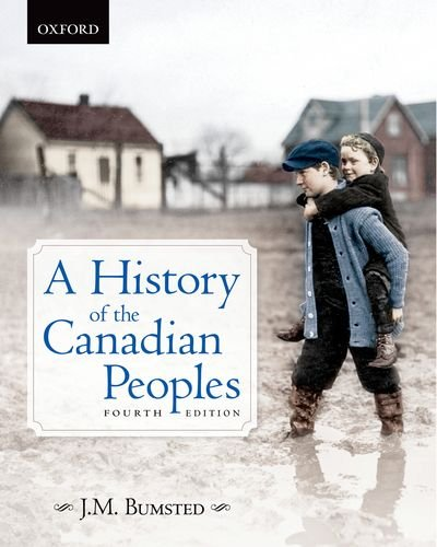 A History of the Canadian Peoples 4e 9780195439311