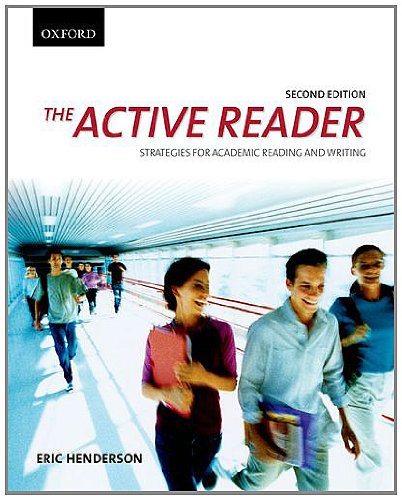 The Active Reader: Strategies for Academic Reading and Writing 9780195439748