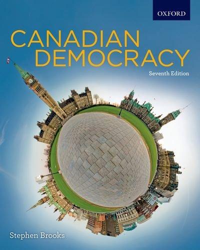 Canadian Democracy 9780195441550