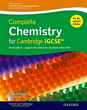 Complete Science for Cambridge IGCSE : Complete Chemistry for Cambridge IGCSE Student Book