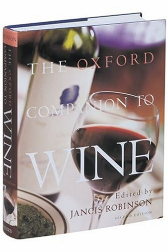 The Oxford Companion to Wine 9780198662365