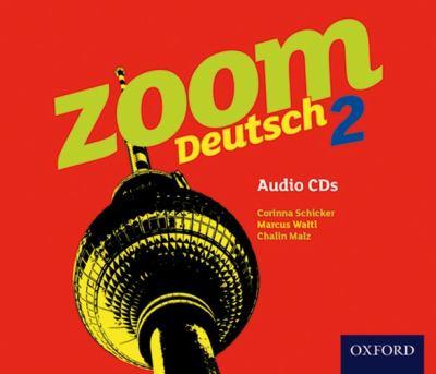 Zoom Deutsch 2: Audio CDs (4 Pack) 9780199127818