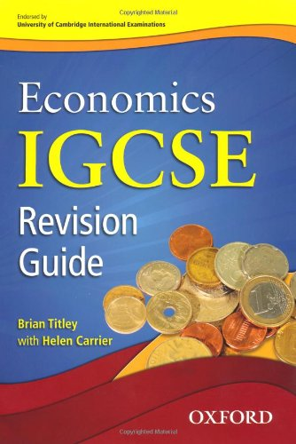 Economics for Cambridge IGCSE and O Level Revision Guide 9780199154869