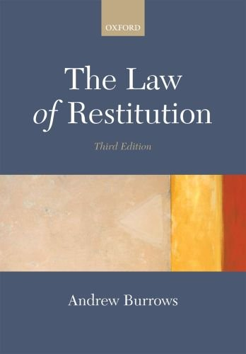 The Law of Restitution 9780199296521