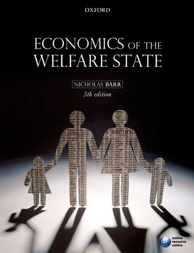 Economics of the Welfare State 9780199297818