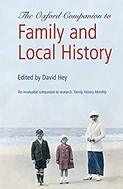Oxford Companion to Family and Local History 9780199532971