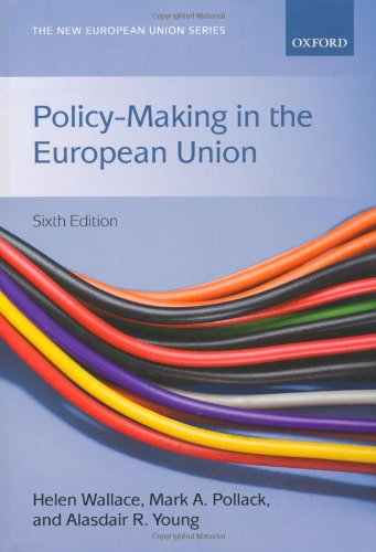 Policy-Making in the European Union 9780199544820