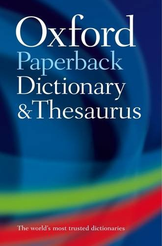 Oxford Paperback Dictionary and Thesaurus 9780199558469