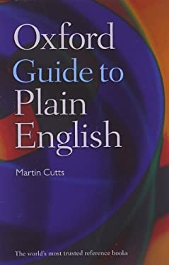 Oxford Guide to Plain English 9780199558506