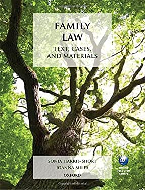 Family Law: Text, Cases, and Materials 9780199563821