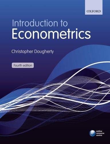 Introduction to Econometrics 9780199567089