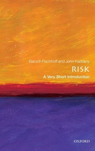 Risk: A Very Short Introduction 9780199576203
