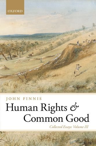 Human Rights and Common Good 9780199580071