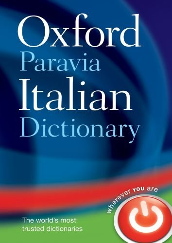 Oxford-Paravia Italian Dictionary 9780199580422
