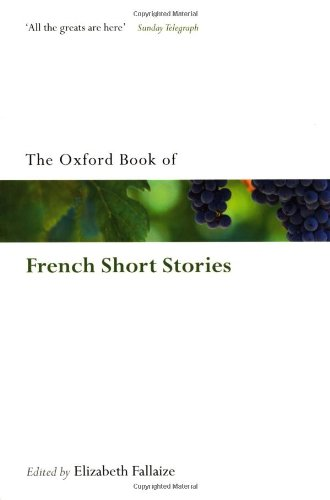 The Oxford Book of French Short Stories 9780199583171