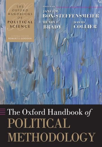The Oxford Handbook of Political Methodology 9780199585564