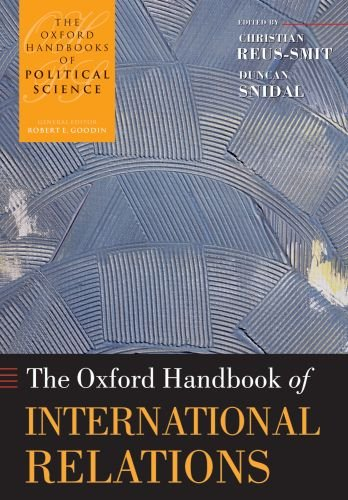 The Oxford Handbook of International Relations 9780199585588