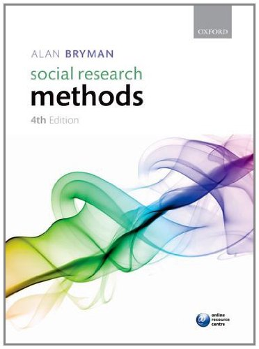 Social Research Methods 9780199588053