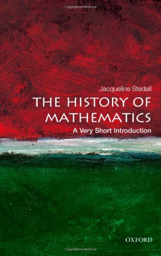 The History of Mathematics: A Very Short Introduction 9780199599684