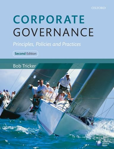 Corporate Governance: Principles, Policies and Practices 9780199607969