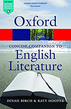 The Concise Oxford Companion to English Literature. 9780199608218