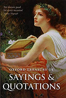 Oxford Treasury of Sayings and Quotations 9780199609123