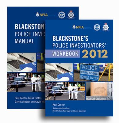 Blackstone's Police Investigators' Manual and Workbook 2012 9780199638925
