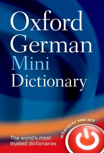 Oxford German Mini Dictionary 9780199692668