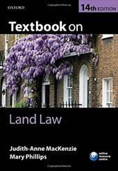 ISBN 9780199699278 product image for Textbook on Land Law   upcitemdb.com