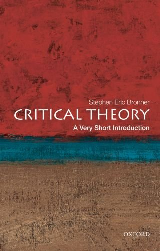 Critical Theory: A Very Short Introduction 9780199730070