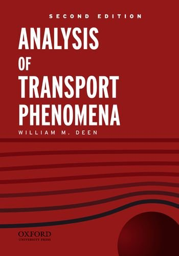 Analysis of Transport Phenomena 9780199740284