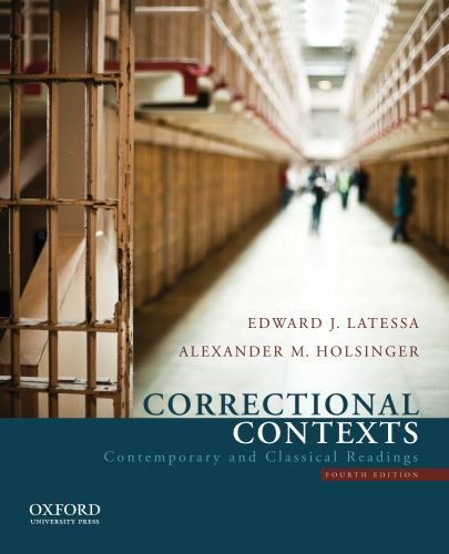Correctional Contexts: Contemporary and Classical Readings 9780199751464