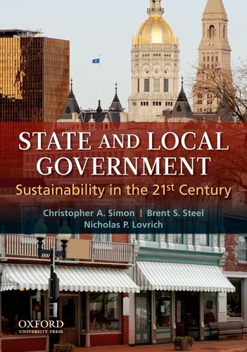 State and Local Government: Sustainability in the 21st Century 9780199752003